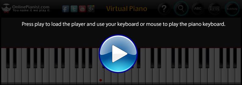 Piano virtual piano chords : Virtual Piano - Interactive Piano Keyboard | OnlinePianist