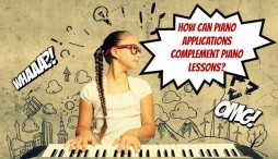 How Can Piano Applications Complement Piano Lessons?