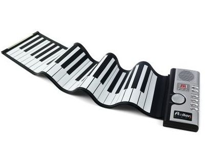 Modern Rolled Up Piano