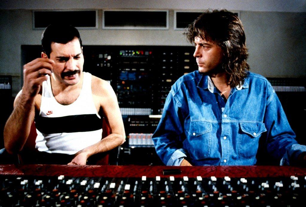 Queen in the recording studio