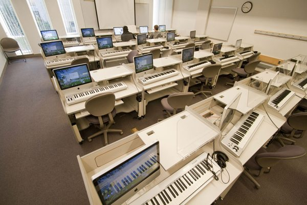 Piano Learning Keyboard Computer
