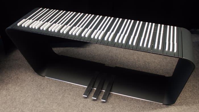 Modern Piano Keyboard
